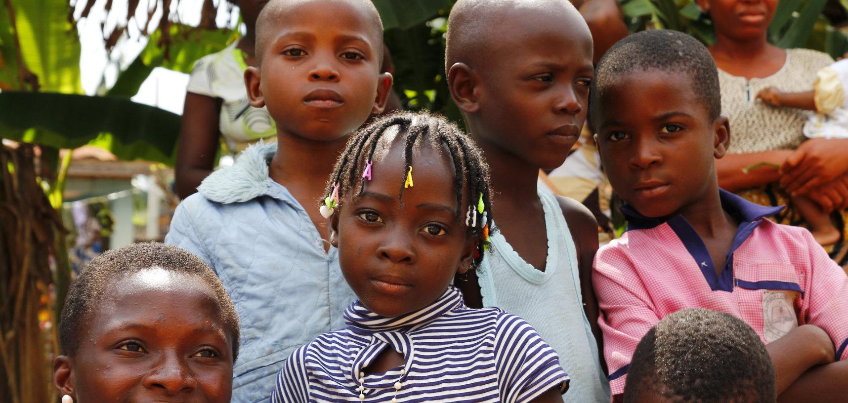 Nigerian boys and girls