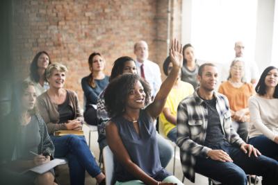 Meeting Seminar Training Concept
